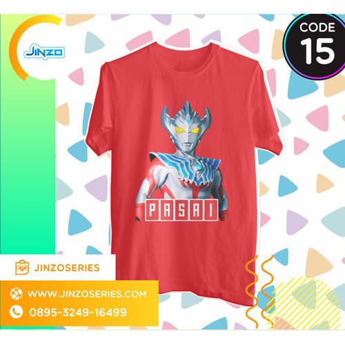 Foto Produk Kaos Anak Ultraman 15 Taiga Nama - Hitam, 2 dari Jinzo Series