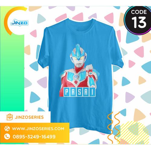 Foto Produk Kaos Anak Ultraman 13 Gingga Galaxy Nama - Hitam, 2 dari Jinzo Series