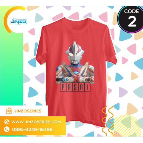 Foto Produk Kaos Anak Ultraman 2 Mebius Brave Nama - Biru, 4 dari Jinzo Series