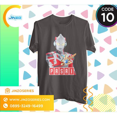 Foto Produk Kaos Anak Ultraman 10 X Nama - Hitam, 2 dari Jinzo Series