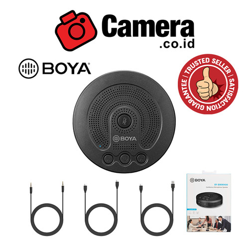 Foto Produk BOYA BY-BMM400 Conference Microphone Speaker dari camera.co.id