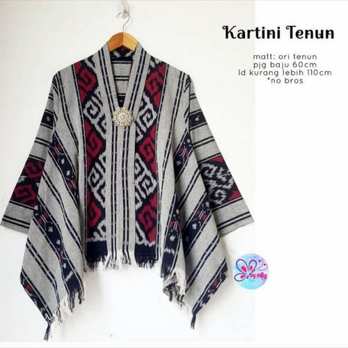 Foto Produk blouse batik KARTINI TENUN ORI atasan blus wanita dari Lemari Batik Solo