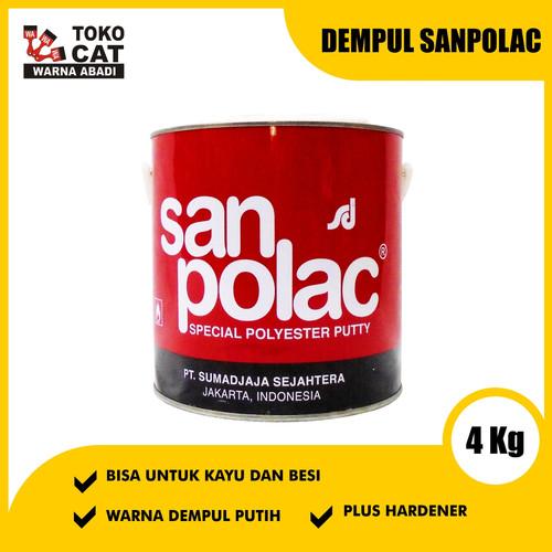 Foto Produk Dempul Sanpolac 4 Kg dari Toko Cat Warna Abadi