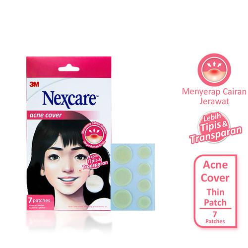 Foto Produk Nexcare 3M Acne Cover Thin Patch Plester Jerawat Kedap Air - Isi 7 dari 3M Indonesia Official