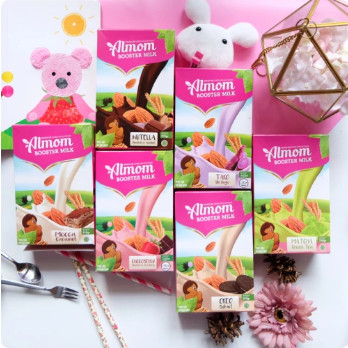 Foto Produk Almom Booster Milk 210gr - Taro dari Yen's Baby & Kid Official Shop