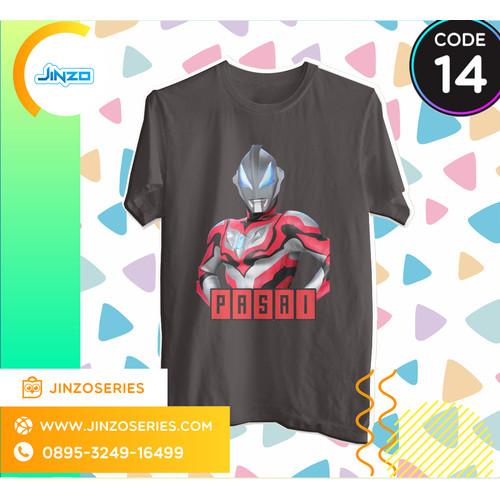 Foto Produk Kaos Anak Ultraman 14 Geed Nama - Hitam, 2 dari Jinzo Series