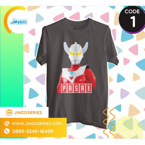 Foto Produk Kaos Anak Ultraman 1 Taro Nama - Hitam, 2 dari Jinzo Series