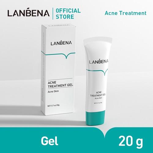 Foto Produk LANBENA Obat Jerawat Gel Anti Acne Treatment Wajah Skincare Scar dari Bursa Cosmetik Murah