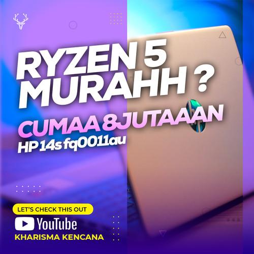 "Foto Produk HP 14s fq0011au AMD Ryzen 5-4500U 8GB 512SSD AMD R6 14""FHD Win10+OHS dari kharismakencana"