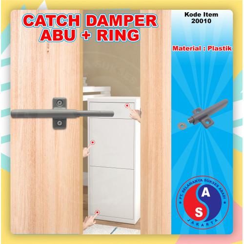 Foto Produk Catches Damper Abu+Ring /Push Open Magnet/ Tip On/ Peredam Capung Abu dari WINSTON SUKSES ABADI