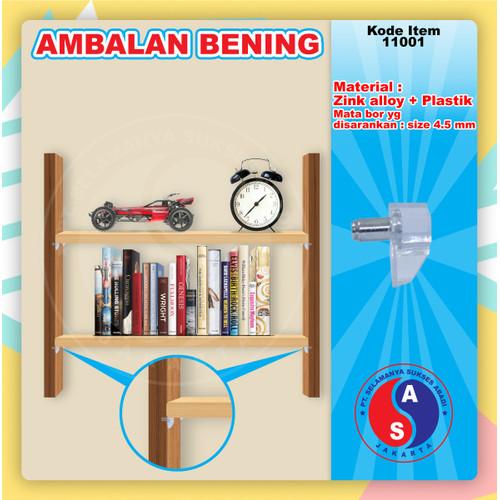 Foto Produk AMBALAN KAYU PLASTIK BENING KRISTAL / TATAKAN PENYANGGA KAYU dari WINSTON SUKSES ABADI