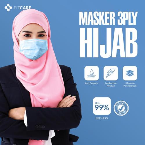 Foto Produk Masker 3ply Hijab Fitcare dari fitcareofficial