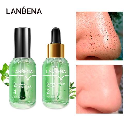 Foto Produk LANBENA Penghilang Komedo Masker Serum Wajah Skincare Perawatan Pengec dari Bursa Cosmetik Murah