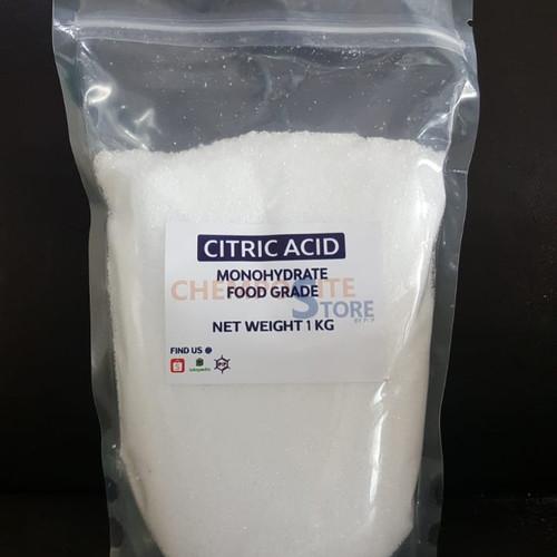 Foto Produk Citric Acid monohydrate / citrun / asam sitrun dari Chemposite store
