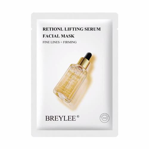 Foto Produk BREYLEE SHEET MASK SERUM SERIES SHEET MASK MASKER WAJAH WANITA - BREY RETINOL LI dari Bursa Cosmetik Murah