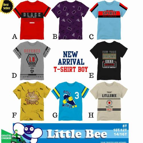 Foto Produk Kaos Baju Anak Branded Size Besar 8-14 Tahun | Kaos Anak Laki Lak - Size 8 dari Posikids
