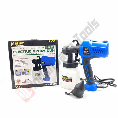 Foto Produk MOLLAR MLR-ESG300 Spray Gun Elektrik 300 Watt - Paint Zoom Electric dari Indah Jaya Tools