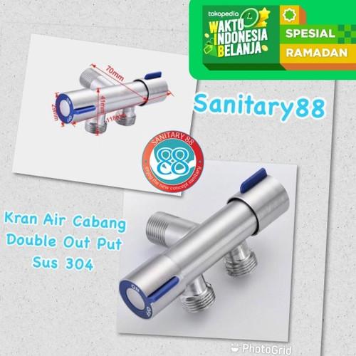 Foto Produk Keran Air Cabang Double Stop Kran Shower Dengan Pengaturan Individual dari Sanitary88