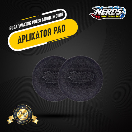 Foto Produk Applicator Pad / Busa Aplikator / Busa waxing poles mobil motor dari Nerds Autodetailing