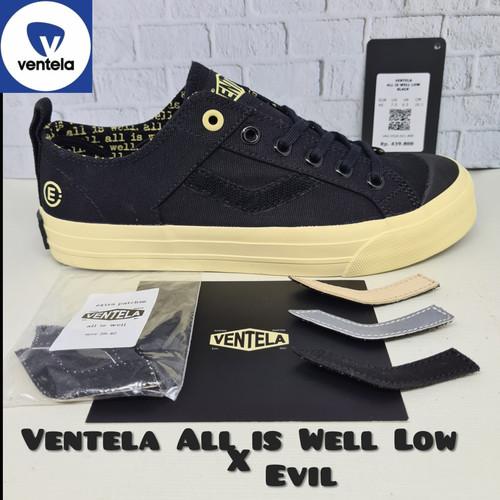 Foto Produk Sepatu VENTELA ALL Is WELL (Gading Marten) EVIL Series - All is Well LOW, 38 dari SHOE N SLIPPER