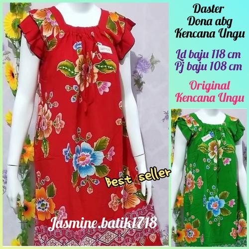 Foto Produk DASTER ABG DONA KENCANA UNGU KUM SP dari jasmine.batik1718