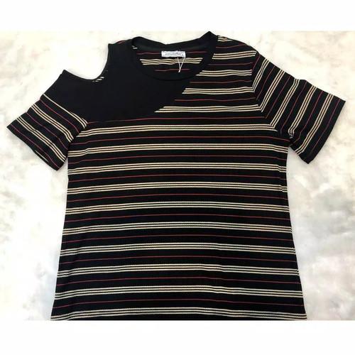 Foto Produk *Ready Stok* ANNABELLA - Atasan Kaos 5742 - Hitam, XL dari Sisters Fashion Group