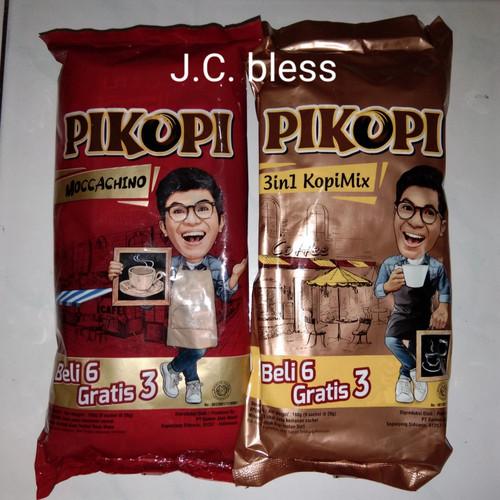 Foto Produk Kopi Pikopi moccachino(9sachet)/mix3in1(10sachet) - Moccachino dari J.C. bless