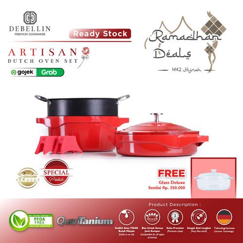Foto Produk Debellin Premium Cookware Set - Artisan Dutch Oven dari Debellin Cookware
