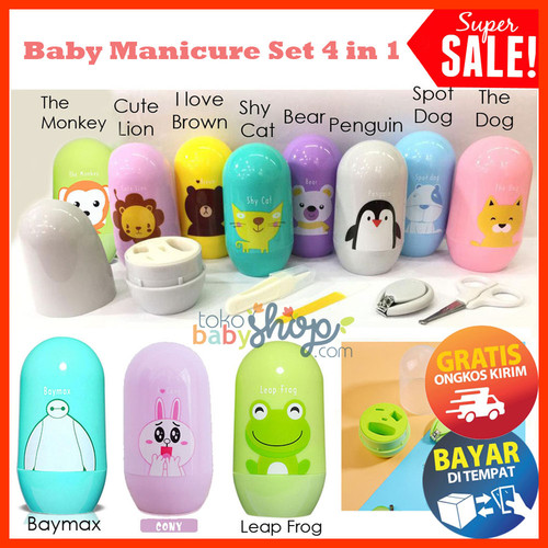 Foto Produk Baby Manicure Set / Gunting Kuku Bayi Kikir Pinset Hidung dari Tokobabyshop