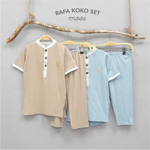 Foto Produk Mooi Rafa Koko Set Setelan Koko Anak - SIZE XS, YELLOW dari Mooi Official