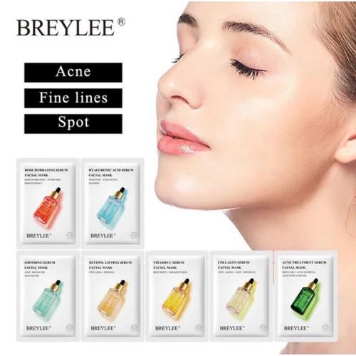 Foto Produk BREYLEE SHEET MASK SERUM SERIES SHEET MASK MASKER WAJAH WANITA dari Bursa Cosmetik Murah