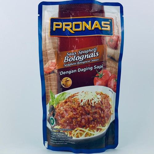 Foto Produk PRONAS Saus Spagheti Bolognais Daging Sapi Kemasan 350 G dari MEL THE SHOP