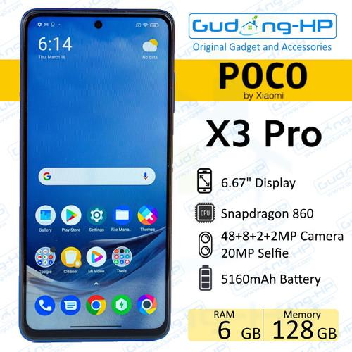 Foto Produk Xiaomi Poco X3 Pro 6/128 GB Garansi Resmi - Bonze dari Gudang-HP