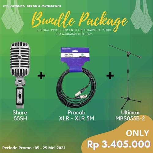 Foto Produk Promo Bundle 55SH Series II + PNM5 + MBS033B-2 dari Goshen Swara Indonesia
