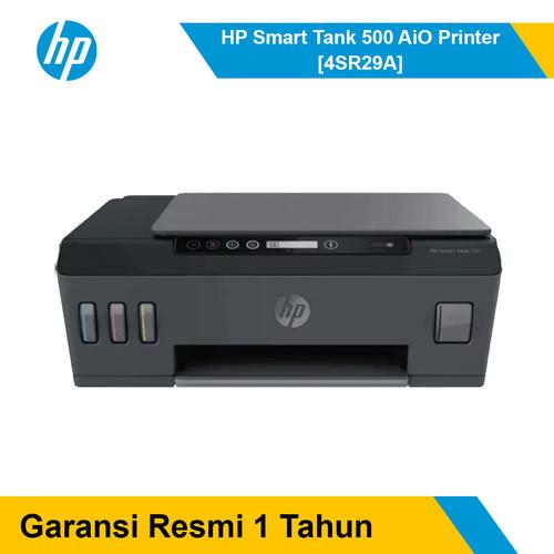 Foto Produk Printer HP Smart Tank 500 AiO [4SR29A] dari Shopit Official