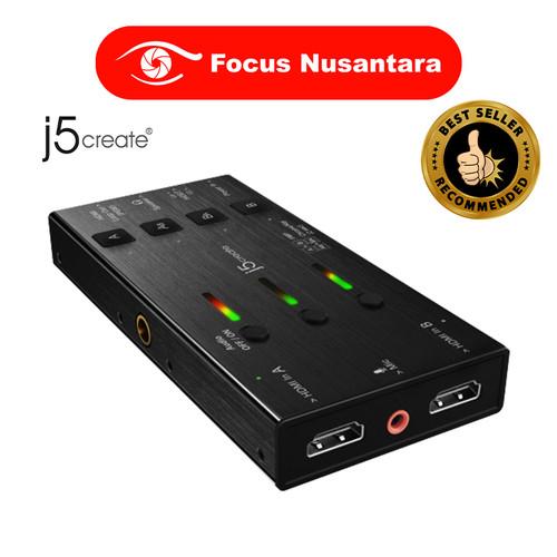 Foto Produk J5create JVA06 Dual HDMI Video Capture dari Focus Nusantara