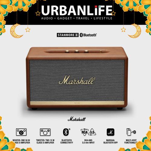 Foto Produk MARSHALL STANMORE II Bluetooth Speaker - Cokelat dari URBANLIFE
