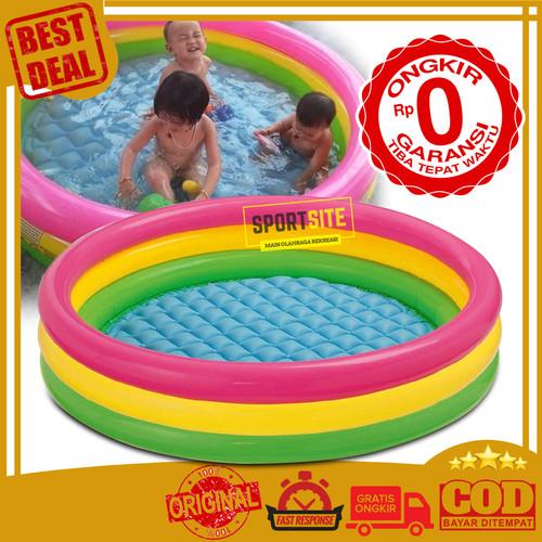 Foto Produk Intex Sunset Swim Pool 147 x 33cm. Kolam Renang Karet Anak. - dari Jakarta dari Sportsite