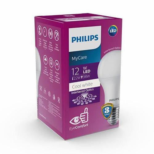 Foto Produk Philips Led bulb 12w 4000K Cool White Natural Putih dari ElectricalMART ID