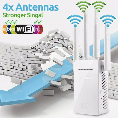 Foto Produk PIX-LINK 300M Wireless Wifi Range Extender Router Repeater AP LV-WR09 dari SARANG ACC shop