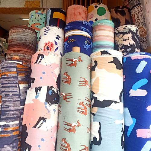 Foto Produk kain bahan rayon untuk gamis,kemeja,baju tidur,kerudung,daster,piyama dari ANUGRAH ACC STORE