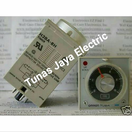 Foto Produk Timer Analog H3BA-8 220V OMRON dari Tunas Electric