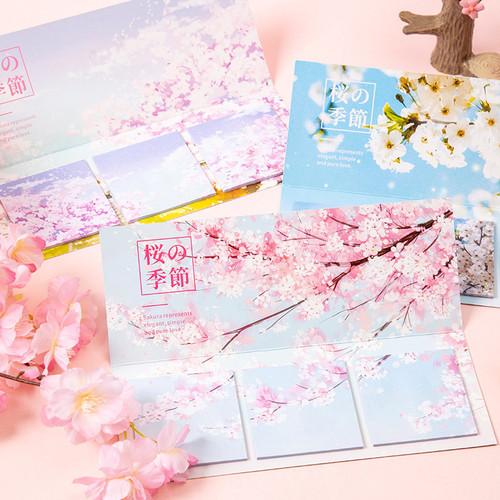 Foto Produk Sakura Flower Series Sticky Notes Set - Catatan Tempel - Notes dari Pinkabulous