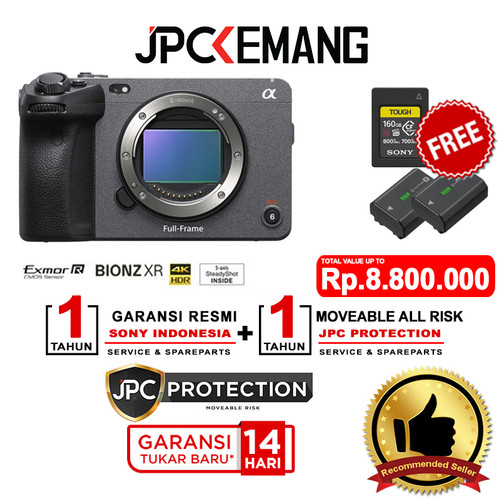 Foto Produk Sony FX3 Full Frame Cinema Line Camera Sony FX3 Body GARANSI RESMI dari JPCKemang