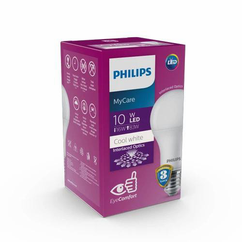 Foto Produk Philips Led bulb 10W 4000K Natural Cool White dari ElectricalMART ID