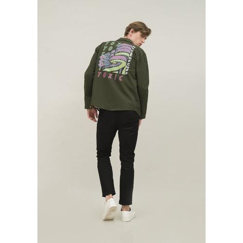 Foto Produk Jaket Parka pria outerwear unisex trucker jacket houseofcuff SNAKE dari House of Cuff