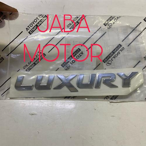 Foto Produk Emblem Luxury original dari JABA MOTOR TOYOTA