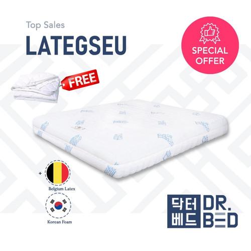 Foto Produk Kasur LATEX DR.BED uk 100 x 200 x 17 cm dari DR.BED