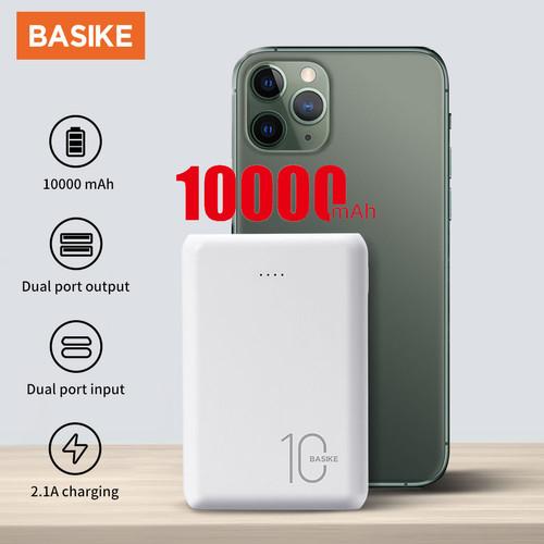 Foto Produk Power Bank Powerbank Fast Charging iPhone LED Display 10000mAh Real Ca - PT61 dari Basike Official Store