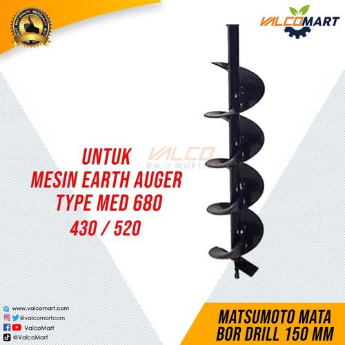 Foto Produk Mata Bor Drill 150mm untuk Mesin Bor MED-430-520-680 dari Valco